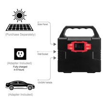 100-Watt Portable Solar Generator Power Inverter, 40800mAh 150Wh Li-on B... - $187.00