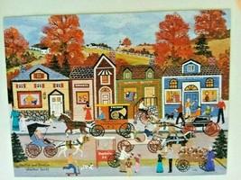 "Ceaco 300 piece Puzzle ""Hustle & Bustle"" Jane Wooster Scott  COMPLETE - $14.95"