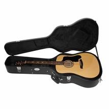 Beginner Acoustic Guitar Case Hard Shell Pick Sampler Electric Lockable ... - $95.14