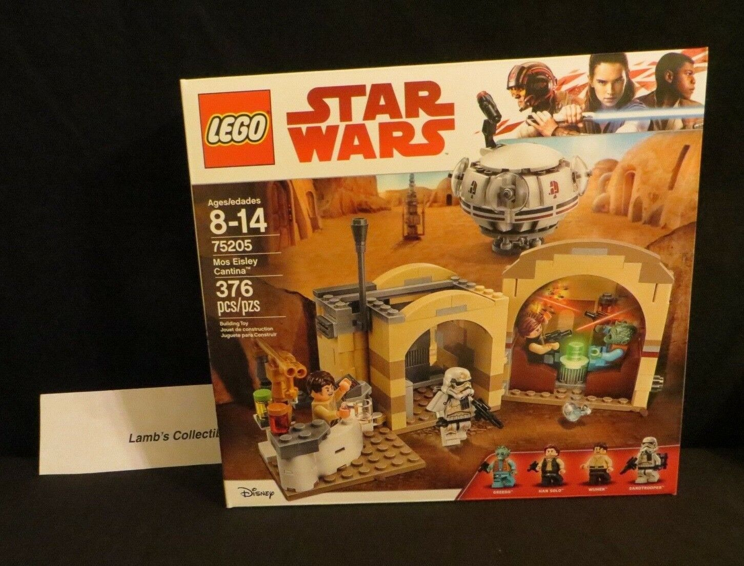 Primary image for LEGO Star Wars Disney 75205 Mos Eisley Cantina 376 pieces building blocks toys