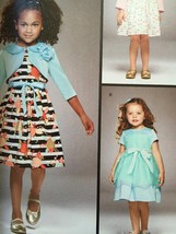 Simplicity Sewing Pattern 8025 Girls Childs Dress Bolero Size 1/2 - 3 New - $17.80