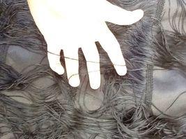 $575 soshanna women midnight vera fringe dress: size 10: black image 4
