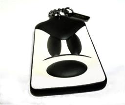 Coach X Disney Mickey Mouse Leather Hangtag Purse Charm Fob Ponderous 66... - $45.00