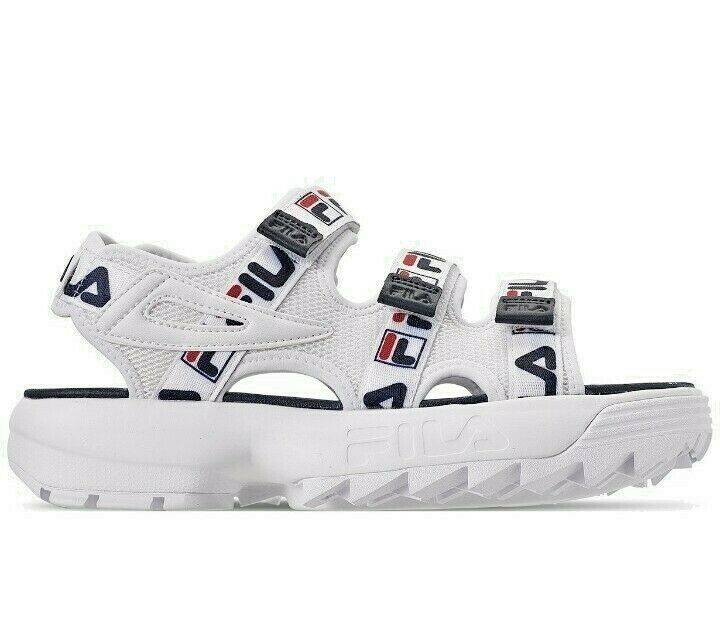 Primary image for Fila  Women's Disruptor Logo Athletic Sandals from Finish Line Size 7 or 8