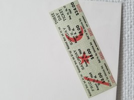 Pristine Woodstock Music and Art Fair 1969 3 Day Ticket Collectible Hist... - $148.50