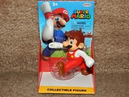 New! Fire Mario Super Mario Jakks Pacific Figure Free Shipping - $11.87