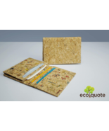 EcoQuote Eco Friendly Cards Holder Handmade Cork Eco Friendly Material F... - $16.80