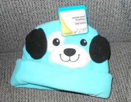 New Angel Of Mine Infant Baby Hat Blue Dog One Size - $3.50