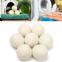 8pcs XL Wool Dryer Ball Reusable Natrual Fabric Softener Balls for Cloth... - $16.80