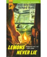 LEMONS NEVER LIE Richard Stark aka Donald Westlake - THRILLER - GROFIELD #4 - $5.00