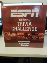 ESPN All Sports Trivia Challenge Board Card Game - New - Sealed. Fast Shipping! - $12.73