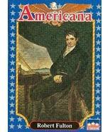 Robert Fulton trading card (Engineer and Artist) 1992 Starline Americana... - $3.00