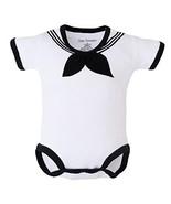 Trendy Apparel Shop Cracker Jack Sailor Uniform Infant Bodysuit - White ... - $27.99