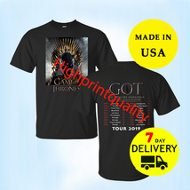 Game of Thrones Shirt Live Concert Experience Tour Dates 2019 T-Shirt Si... - $23.99+
