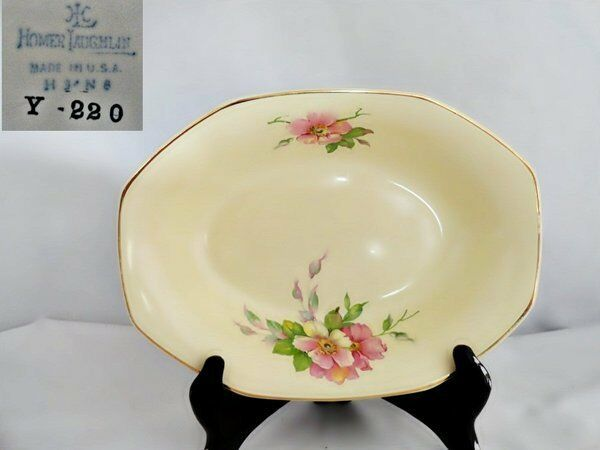 Homer Laughlin Wild Rose Yellowstone Vegetable Bowl