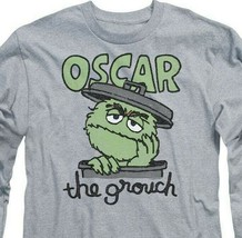 Sesame Street Oscar the Grouch T-shirt Retro 60s 70s educational TV SST118 image 2