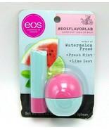 EOS FLAVOR LAB Soft Shea Lip Balm Watermelon Frose Stick & Sphere - $9.85