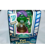 M Ms Madame Green Fun Fortunes Candy Dispenser Purple Hair 8 3/4 Inches ... - $25.99