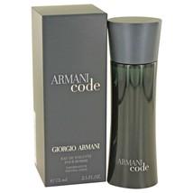 Armani Code By Giorgio Armani Eau De Toilette Spray 2.5 Oz 416211 - $71.57