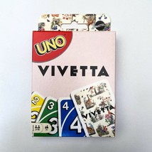 Mattel Creations UNO By Vivetta 50th Annivers Limited Edition Rare Card Game - $46.08