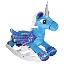 Charm 82514 Kids Sky Flying Pegacorn Plush Rocker Pegasus/Unicorn Rockin... - $88.95