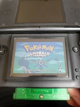 NINTENDO GAME BOY ADVANCE POKEMON EMERALD GBA MINT PERFECT WORKING CONDI... - $13.44