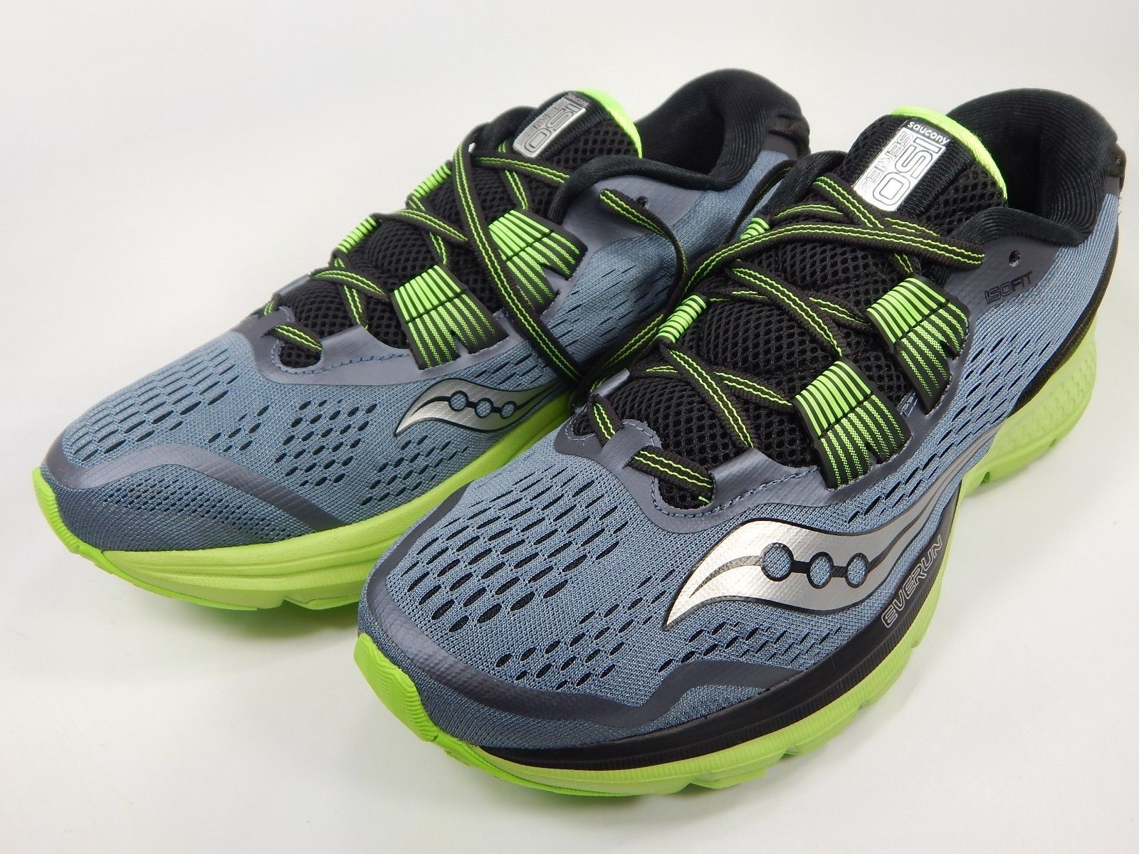 Saucony Zealot ISO 3 Men's Running Shoes Size US 9 M (D) EU 42.5 Grey S20369-1
