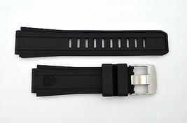 Genuine Luminox 0200 Sentry Watch Band Strap 20mm Black Rubber  - $59.95