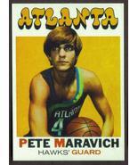 Pistol PETE MARAVICH Card RP #55 Hawks 1971 T Free Shipping - $2.95