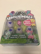 NEW Hatchimals CollEGGtibles Hatching Eggs Season 1, 4-Pack + Bonus Spin... - $12.98