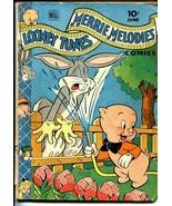 Looney Tunes #44 1945-Dell-Bugs Bunny-Porky Pig-G/VG - $49.66