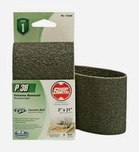 "Shopsmith P36 21"" x 3"" Ceramic SANDING BELT 36 Grit Coarse 1 pc. Extreme 12240 - $10.59"