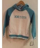 HBC VANCOUVER 2010 WINTER OLYMPIC GAMES Girls 7/8 Hoodie Hooded Sweatshirt - $19.95