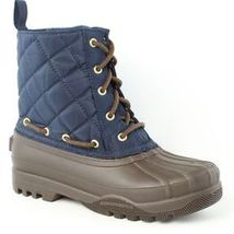 New Women's Paul Sperry Gosling Duck Waterproof Quilted Top Rubber Boots NIB image 5