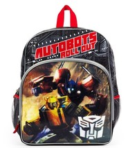 "TRANSFORMERS 3-D AUTOBOTS 16"" Full-Size Backpack w/ Optional Insulated L... - $17.81+"