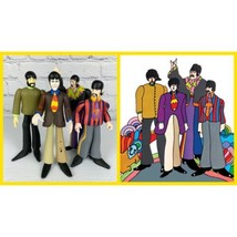 Beatles Yellow Submarine Action Figures McFarlane John Lennon Paul McCar... - $34.60
