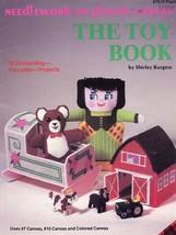 Toy Book Plaid Plastic Canvas PATTERN/INSTRUCTIONS Leaflet Rare - $4.47