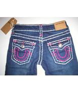 New Girls NWT $156 True Religion Brand Jeans 6 Stella Skinny Super T Blu... - $156.00