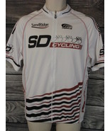 Sandridge Energy Veloce Speedwear Cycling Jersey XL Full Zip Oilfield Pe... - $22.72