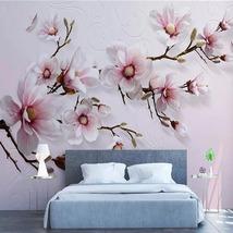 """3D Wallpaper """"Pink Flowers"""" - $35.00+"""