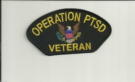 OPERATION PTSD VETERAN  NAM  VIETNAM EMBROIDERED PATCH - $15.33
