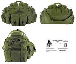 The Tank Duffel Bag + FREE SURVIVAL BRACELET/BOB/Tactical/Military - OLI... - $53.34