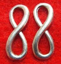 50Pcs. Wholesale Tibetan Silver ''Infinity'' Symbols 8 Charms Connectors... - $35.63
