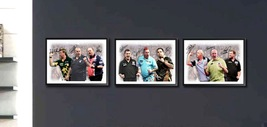 Darts Trilogy signed - Phil Taylor Peter Wright Ally Pally - Jackpot Bar... - $69.00