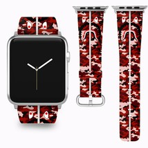 Bape Shark Apple Watch Band 38 40 42 44 mm Series 1 - 5 Fabric Leather Strap 2 - $29.97
