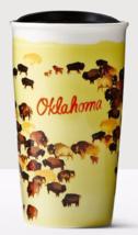 Starbucks 2016 Oklahoma Local Collection Double Wall Ceramic Tumbler NEW - $119.40