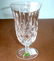 Waterford Crystal Lismore Footed Iced Tea Beverage Glass #1058116 New In... - $82.90