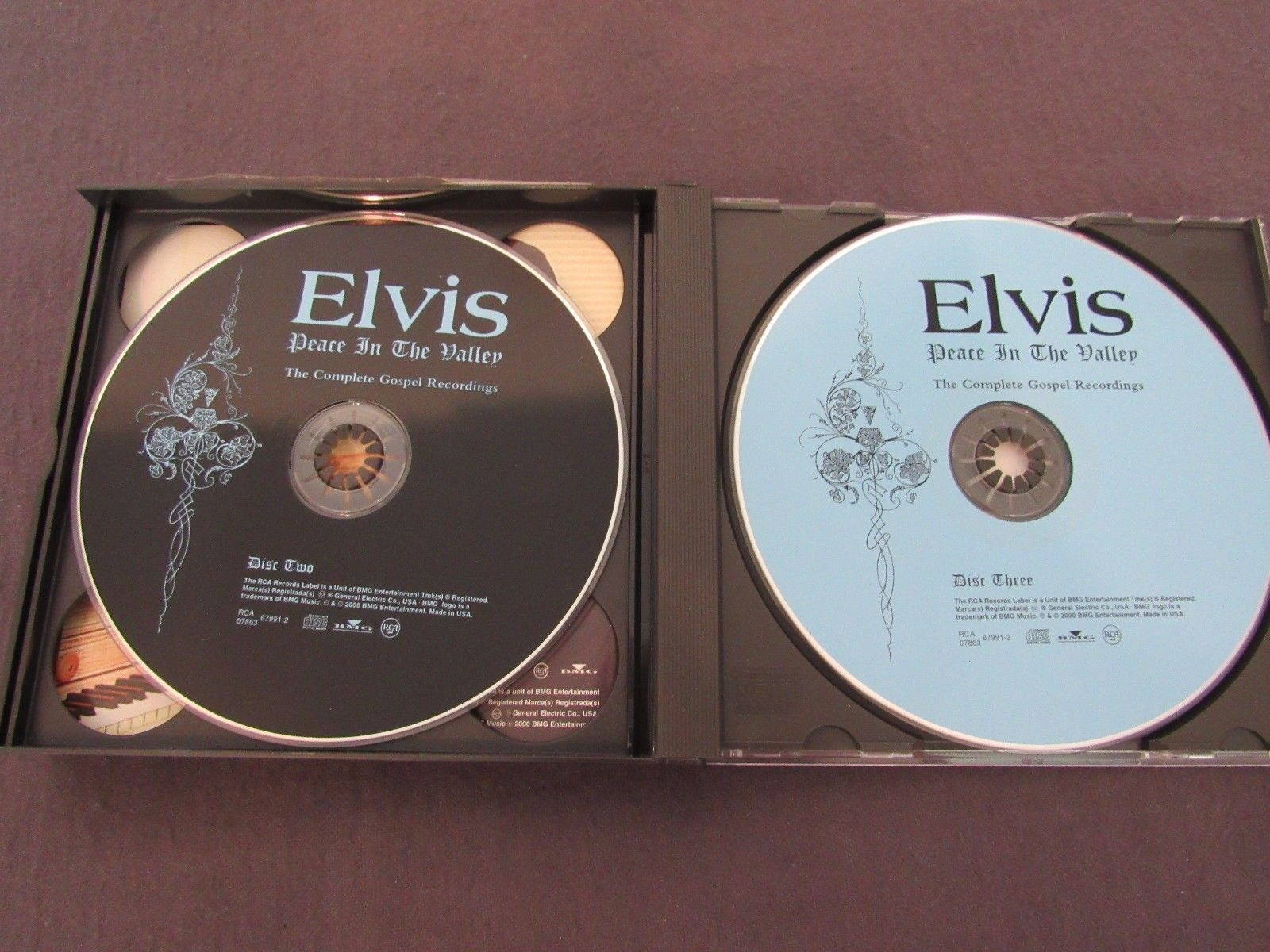Elvis Presley CD  Peace In The Valley: Complete Gospel Recordings 3 Discs