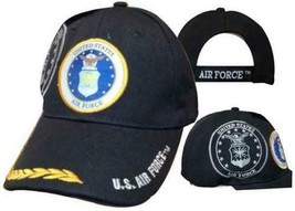 U.S. Air Force Hat USAF Emblem Shadow Feathers Embroidered Cap - $21.77