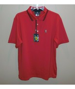 Psycho Bunny Mens 6 Large Hendon Polo Short Sleeve Shirt Red New  - $59.35